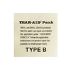 Tear Aid Repair Kit(5pcs) for Inflatable Products-Made in USA