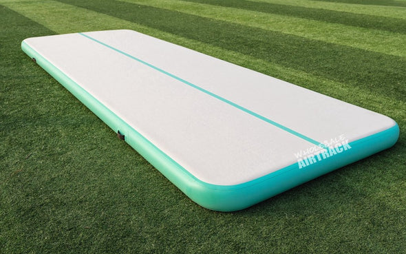 Mint Green Air Tumble track Cheerleaders Mat