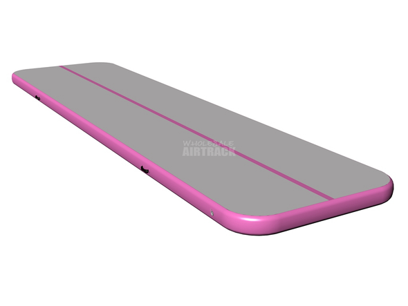 Fantastic quality air floor gray surface pink side air tumble track prices