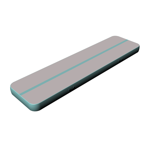 New gray surface ice blue side airtrack home edition