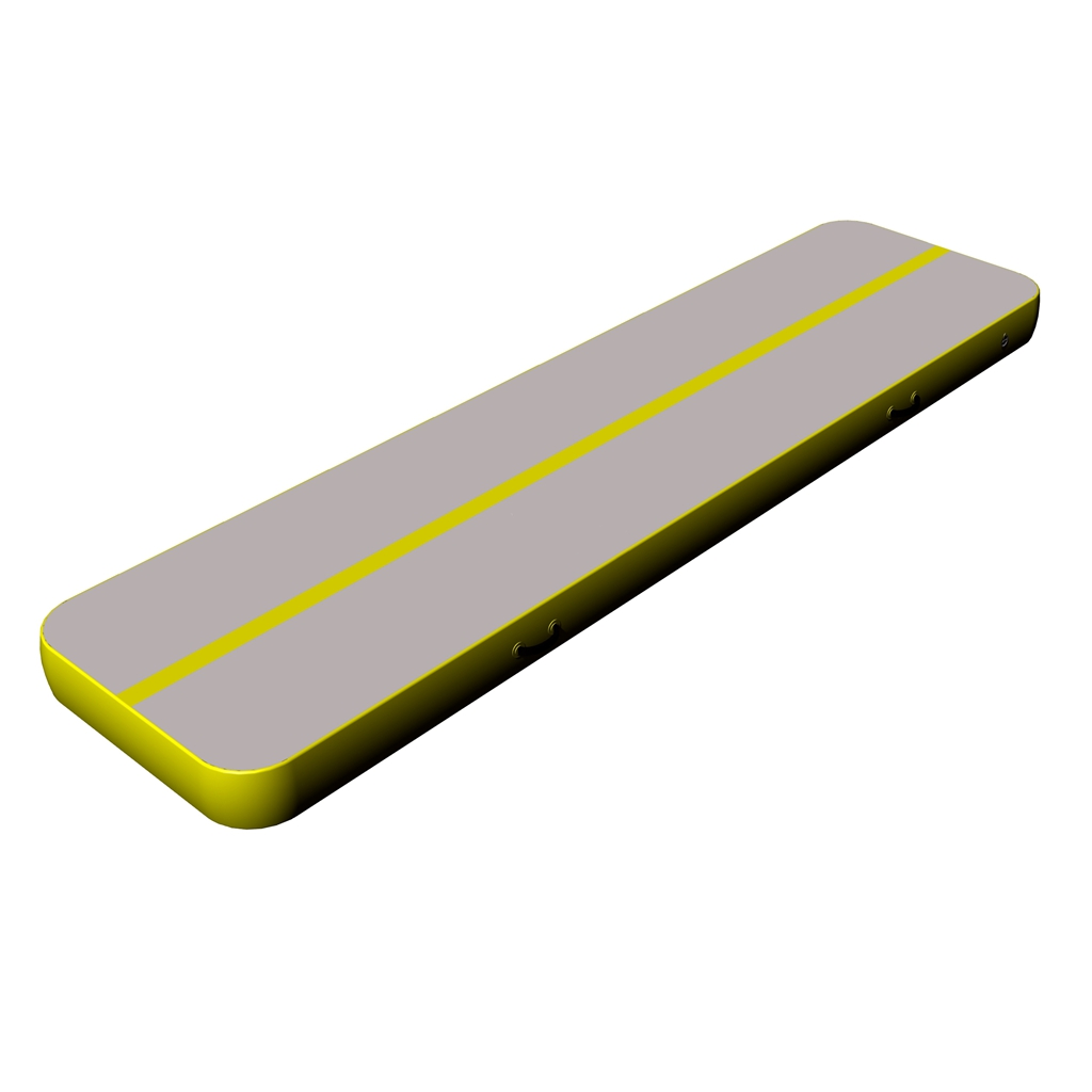 Hot sale gray surface yellow side gymnastics equiment