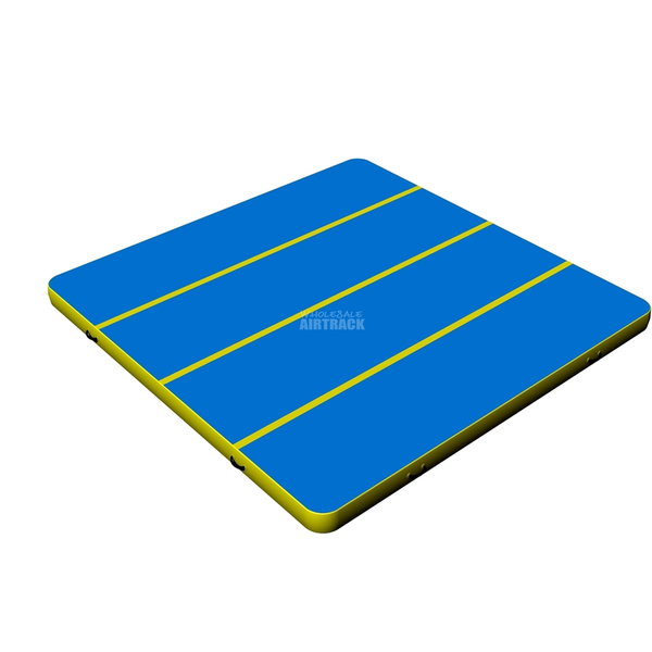 Top Blue Surface Colorful Side Air Gymnastics Mats