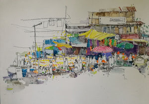 Babugenu Chowk - Canvas