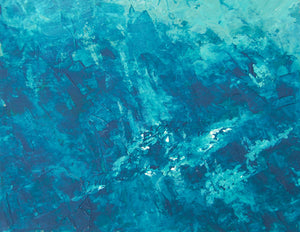 Water 2 - Oil on Canvas