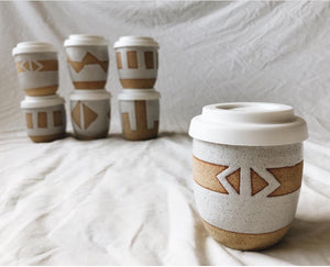 AZTEC TRAVEL MUG - STRIPE