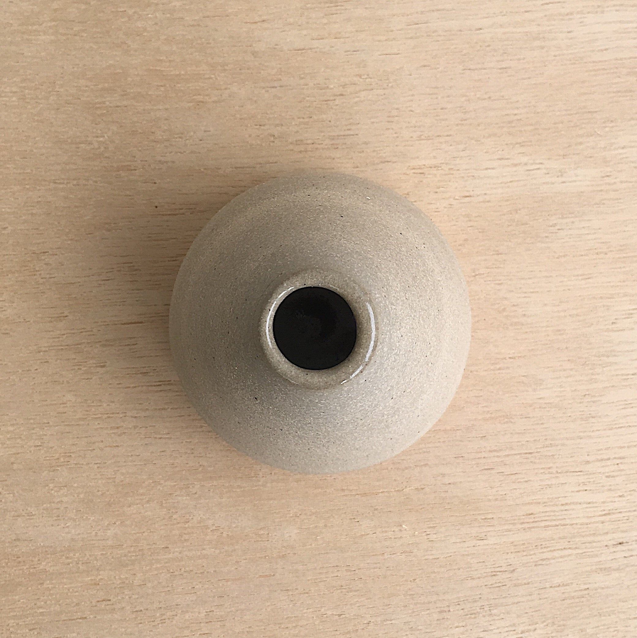 TINY CERAMIC MOUNTAIN VASE #3