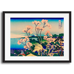 Vintage Japanese Scenery illustration art print various sizes unframed and framed