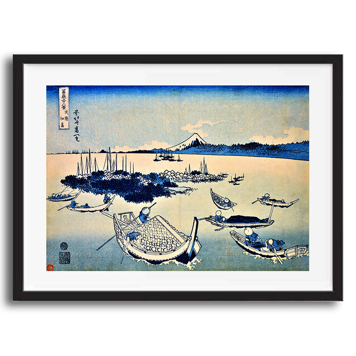 Japanese Scenery retro vintage wall art print framed and unframed