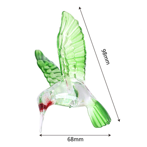 Solar Hummingbird Chimes Lights Color Changing LED