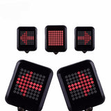 Bicycle Intelligent Signal Brake Light Projection