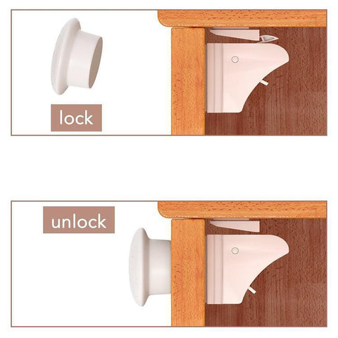 Safety Magnetic Cabinet Lock