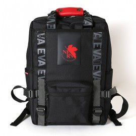 EVANGELION RUCK SACK with SYMBOL TAG<BR>by FIRE FIRST (NERV MODEL(BLACK))<BR>EVFF-20 BK