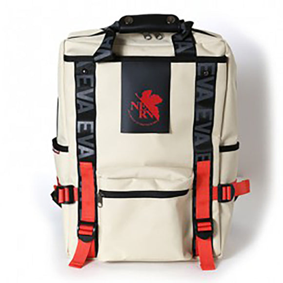 EVANGELION RUCK SACK with SYMBOL TAG<BR>by FIRE FIRST (NERV MODEL(BEIGE))<BR>EVFF-20 BE