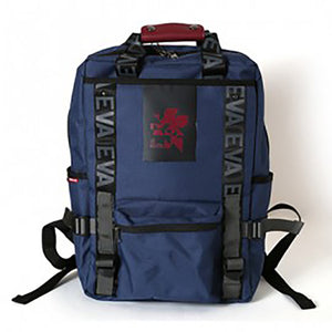 EVANGELION RUCK SACK with SYMBOL TAG<BR>by FIRE FIRST  (NEO NERV MODEL(NAVY))<BR>EVFF-20 NV