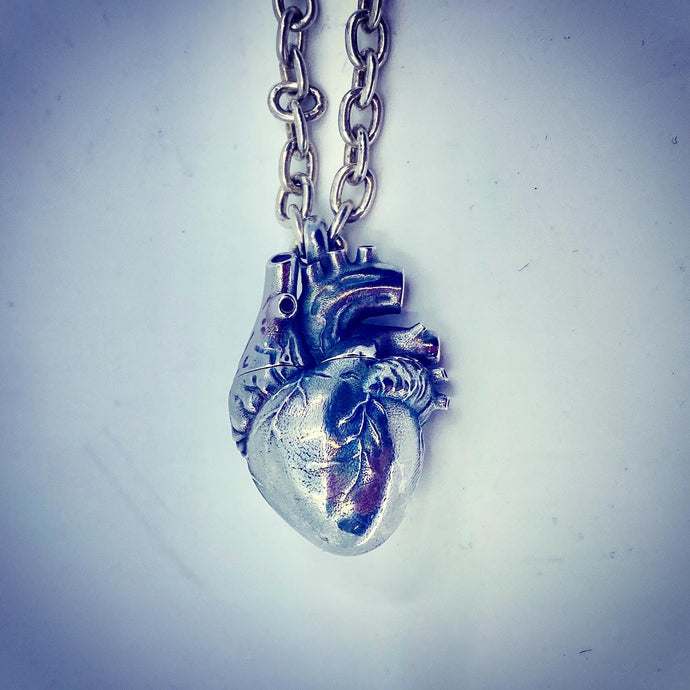 Broken Hearts Cremains Pendant