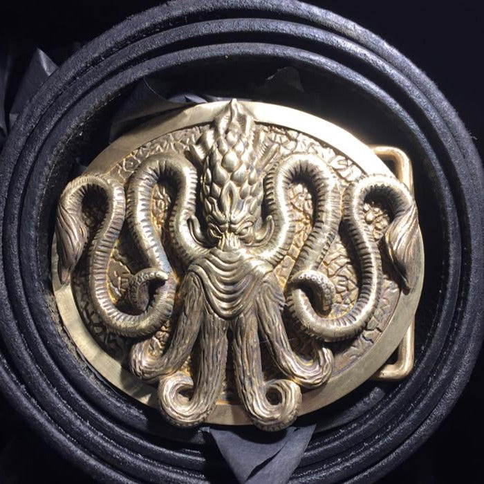 Squid Belt Buckle