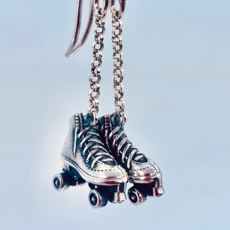 Rollerskate Earrings
