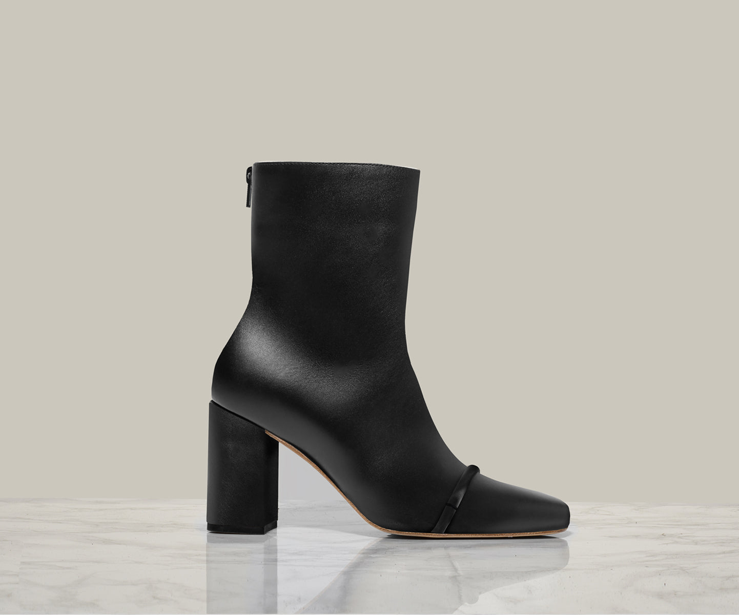 GIGI ANKLE BOOT, Black
