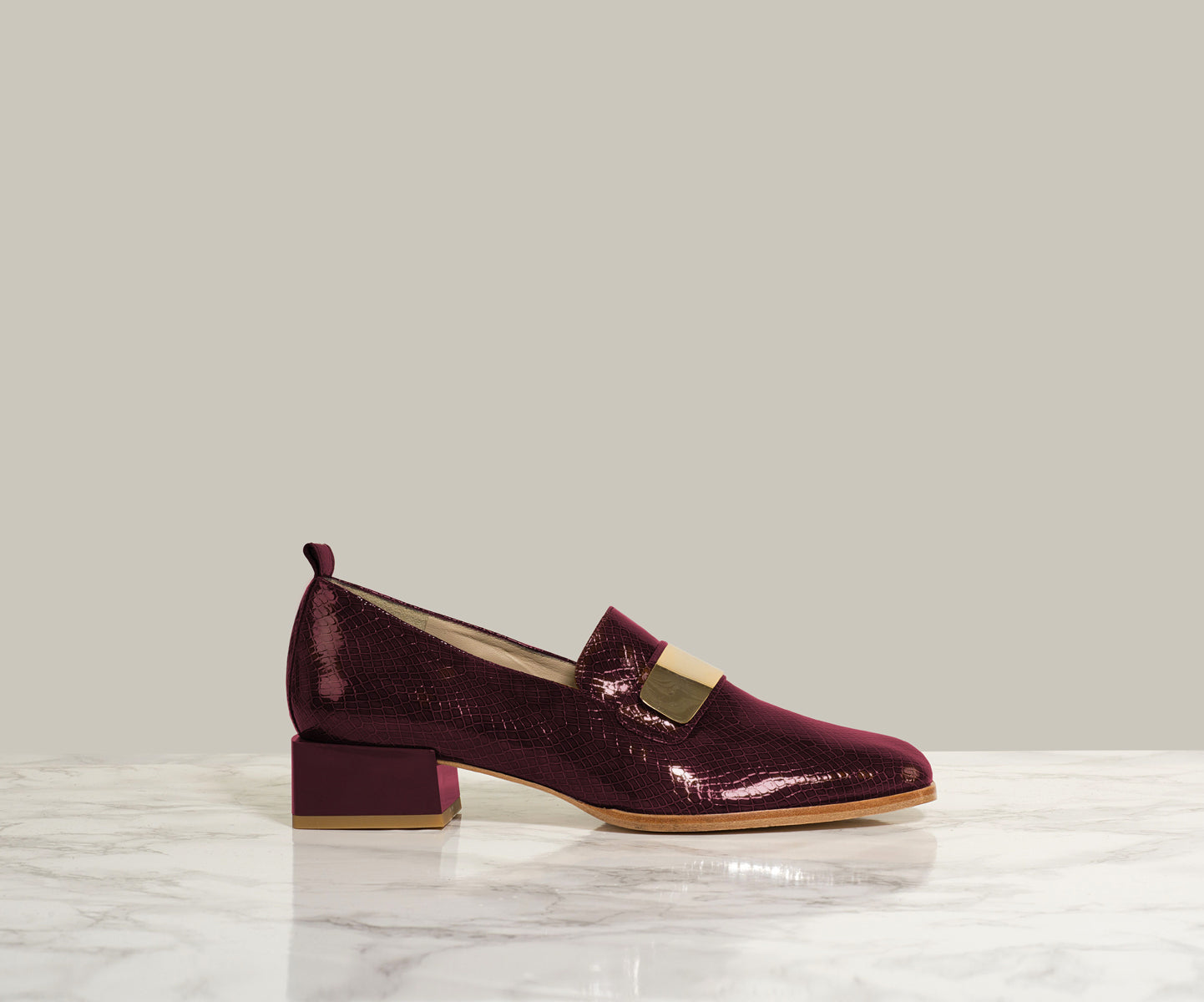 MAX LOAFER, Burgundy