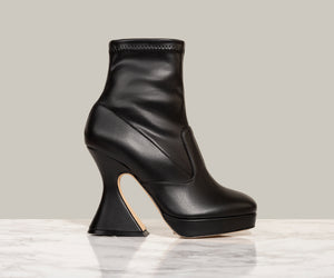 MISTA ANKLE BOOT, Black Eco