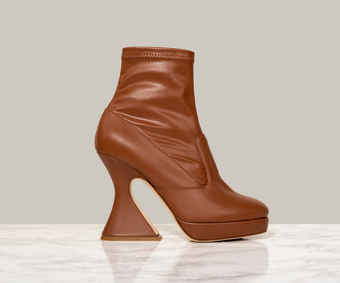 MISTA ANKLE BOOT, Tender Tan