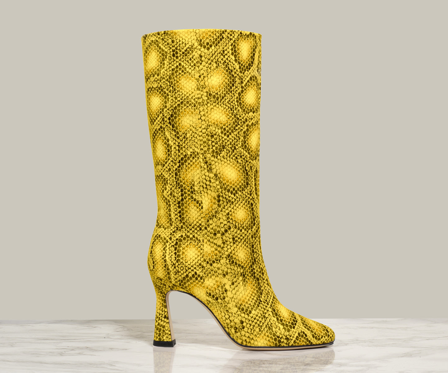 QUEEN BOOT, Sun Yellow