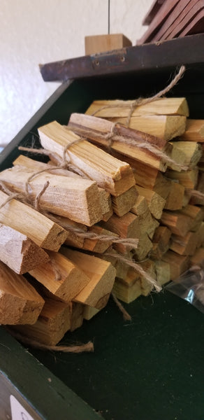 Incense - Palo Santo Holy Wood Sticks - 2 sticks per bundle