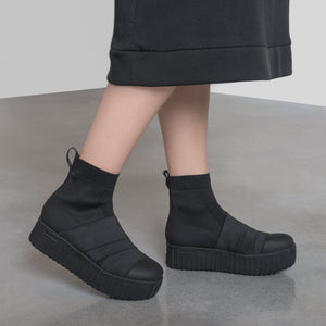 Hi-line Ankle black