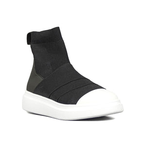 Edge Ankle White/Black