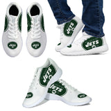 NYJ White Sneakers