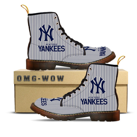 NYY Canvas Boots