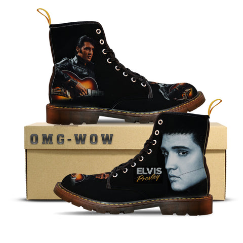 Elvis Presley Canvas Boots