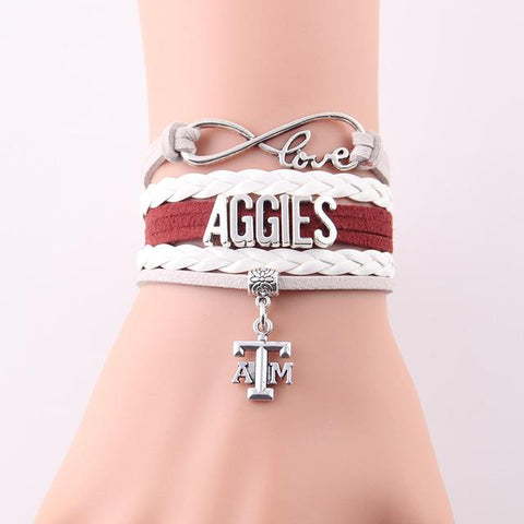 Texas A&M Aggies Bracelet