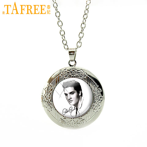 Elvis Presley locket Pendant Necklace