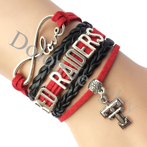 Texas Tech Red Raiders Bracelet