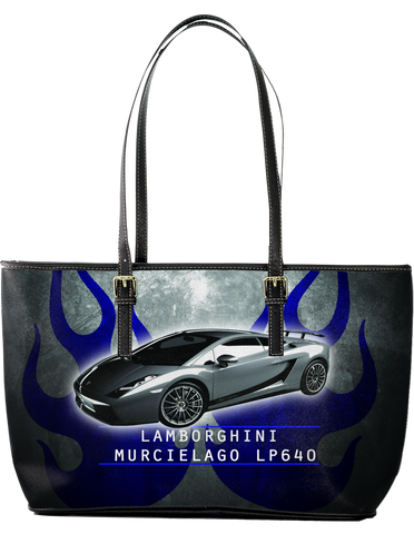 Lamborghini Amazing Large Leather Tote