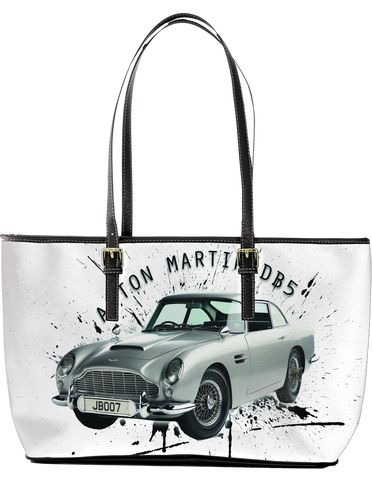 Aston Martin DB5 Large Leather Tote