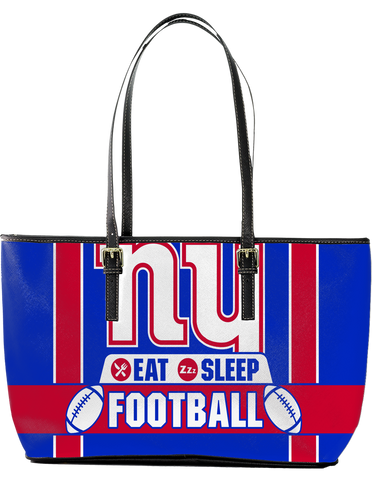 NYG Large Leather Tote