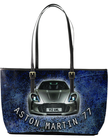 Aston Martin 77 Large Leather Tote