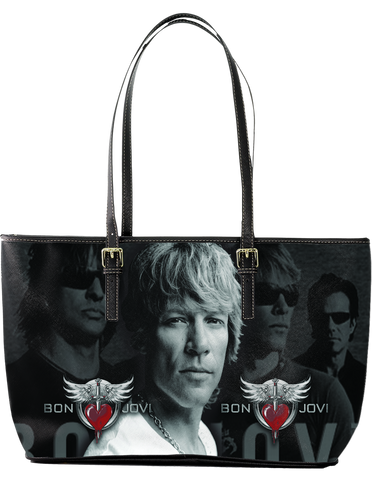 Bon Jovi Large Leather Tote