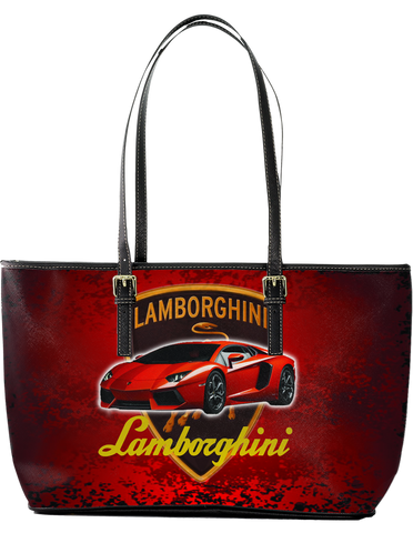 Lamborghini Aventador LP 700 Large Leather Tote