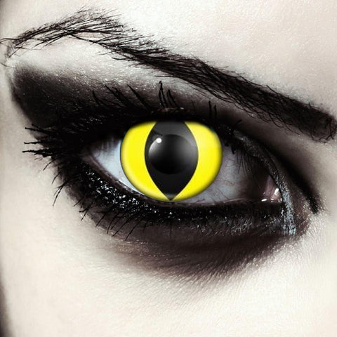 Yellow Cat Eye