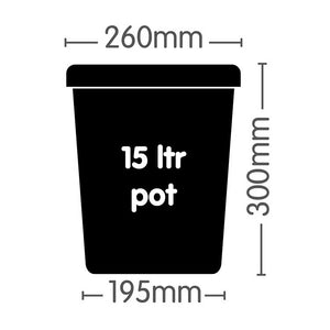 AutoPot 15 ltr Pot (Square)
