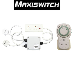 Maxiswitch 10A 2 Way Relay Remote Timer