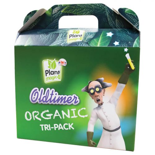 PLANT MAGIC Old Timer Organic TRI-PACK 3 x 1ltr