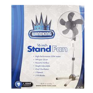 "Wind King 16"" Stand Fan"