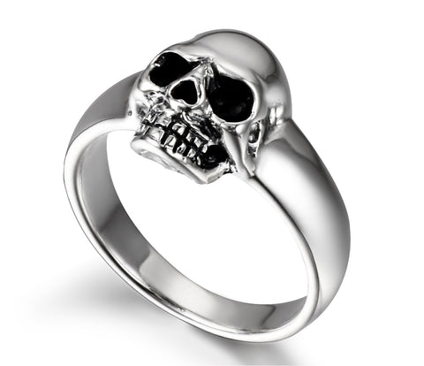 Fairy - Mini Sterling Silver Skull Pinky Ring