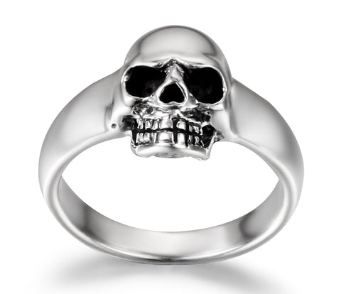 Fairy - Mini Sterling Silver Skull Pinky Ring1