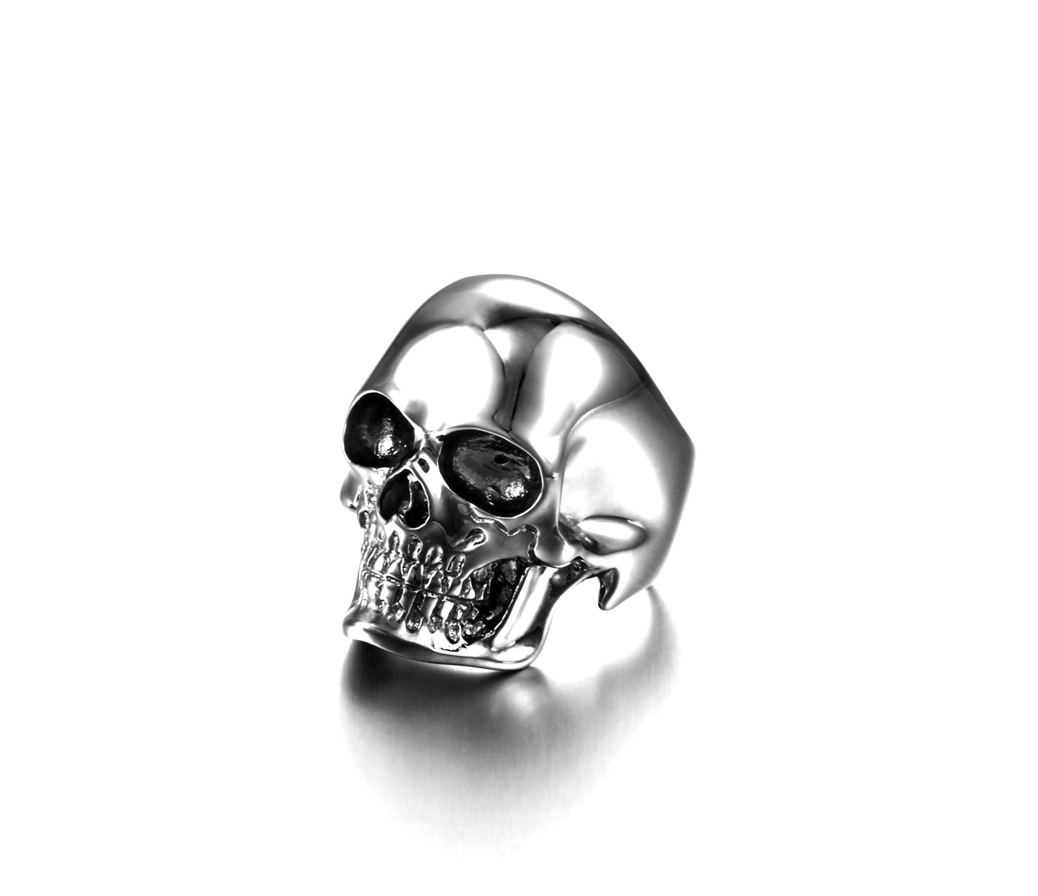 The Master - Black Rutanium Plated Sterling Silver Skull Ring1
