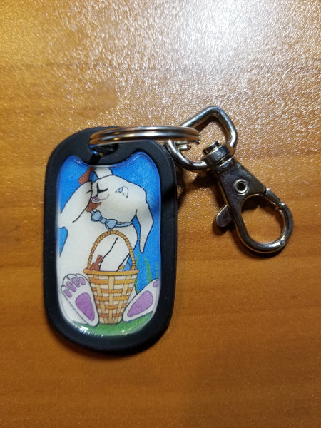Easter Bunny - Keychain